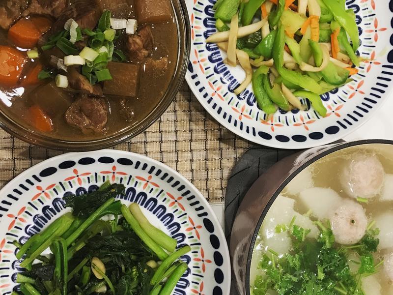 //晚餐桌// 蘿蔔燉肉