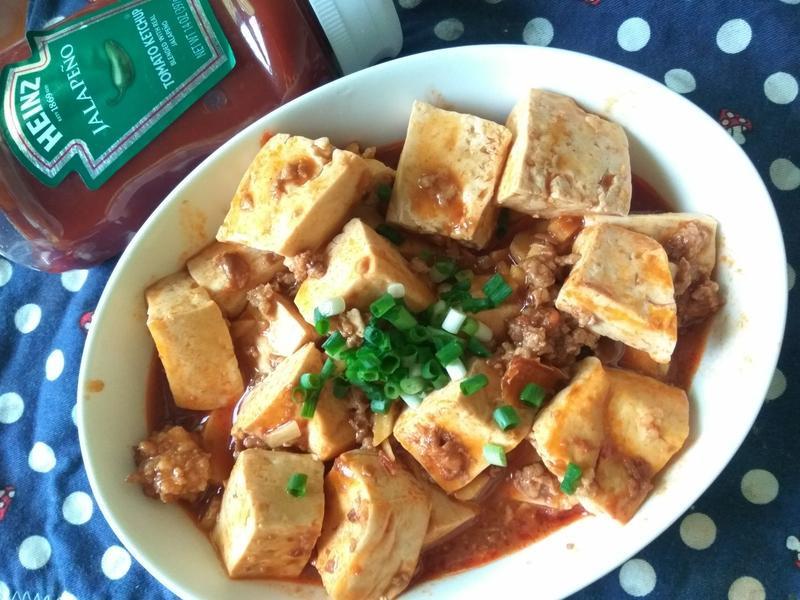 十分鐘上菜─茄香醬燒豆腐