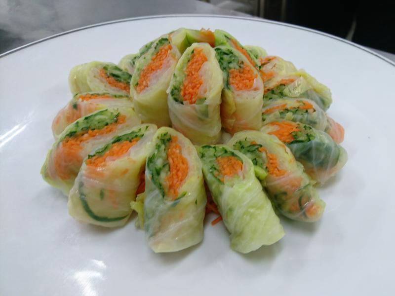 傳統蔬菜捲