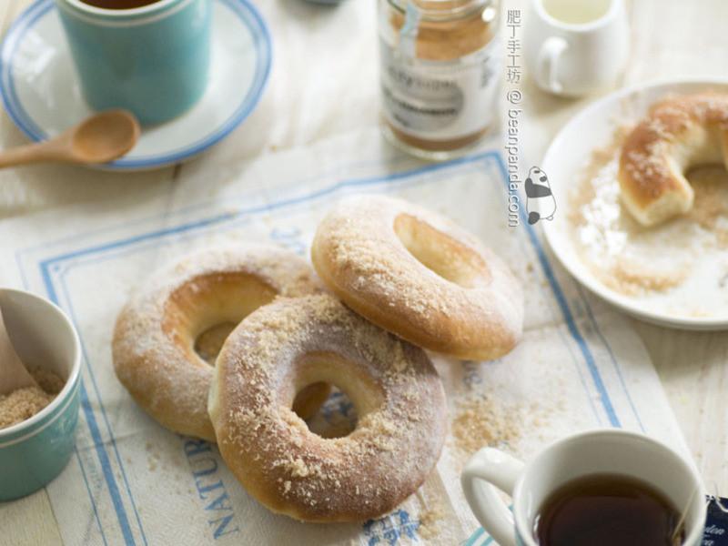 [肥丁食譜] 非油炸健康 ~ 甜甜圈