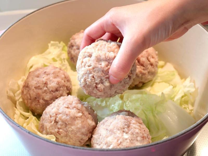 【清燉獅子頭湯】免油炸+粉紅肉