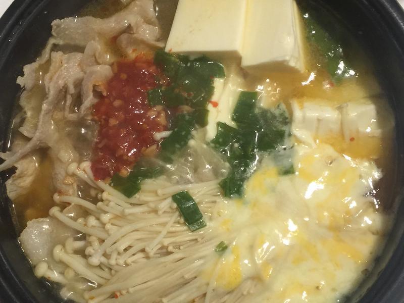 韓式嫩豆腐起士鍋(超暖心)