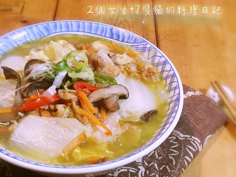 蛋酥滷白菜