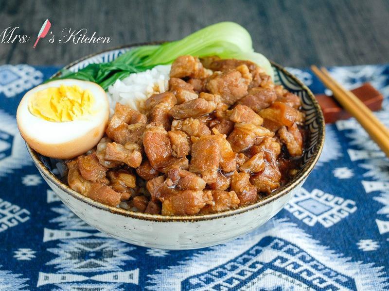 簡易版台式滷肉飯