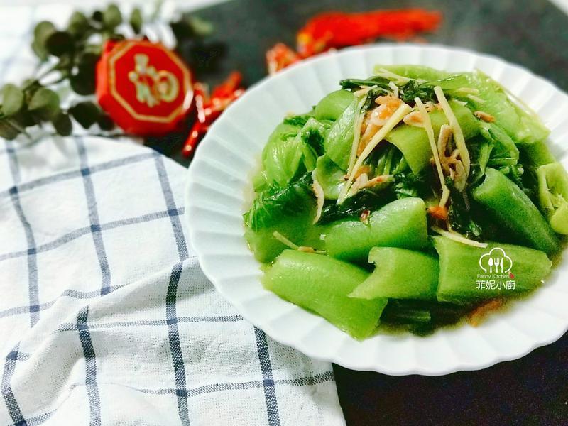 芥菜櫻花蝦