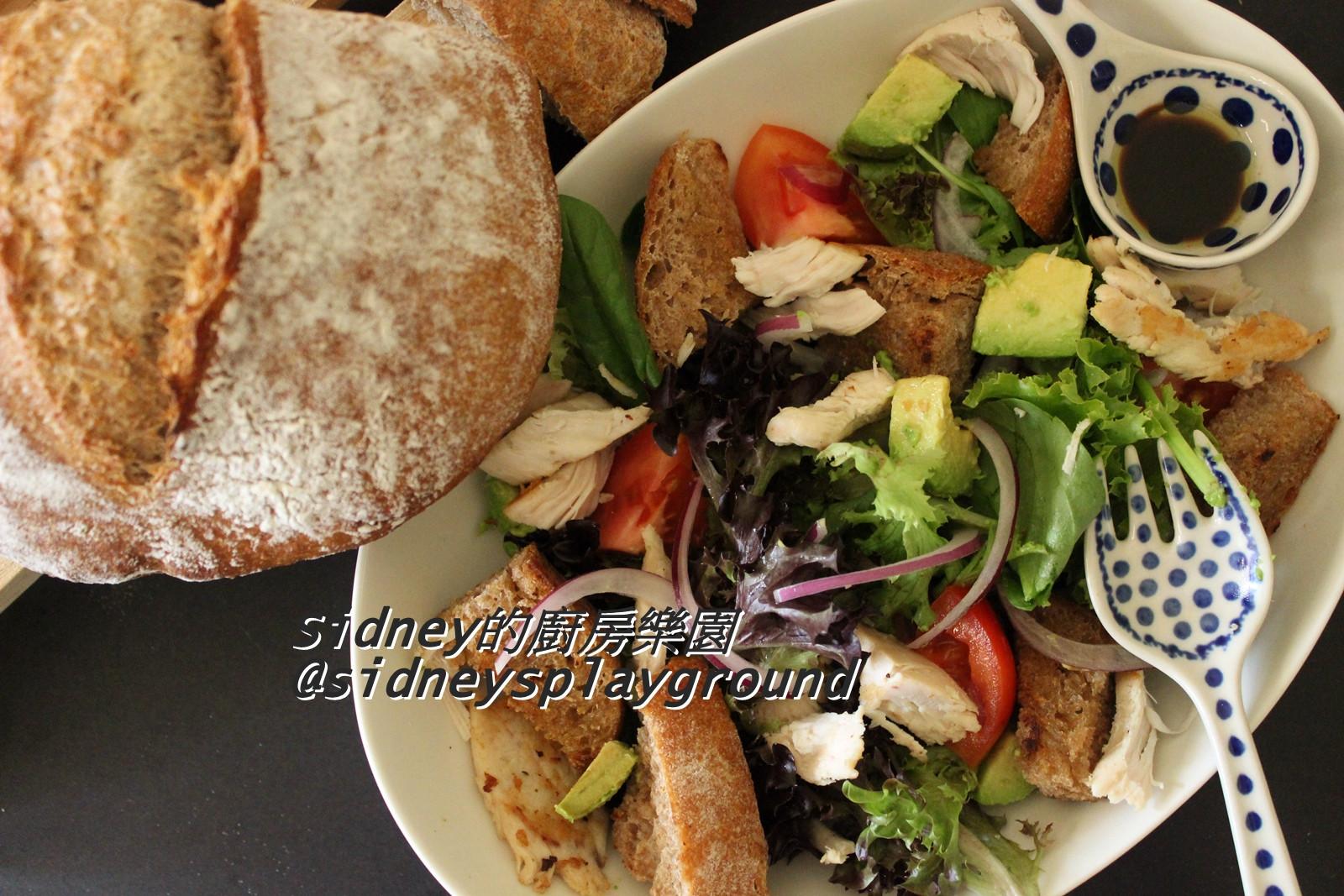 麵包暖沙拉