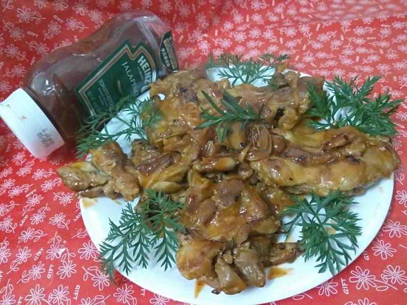 無油料理─茄汁香草雞肉煎