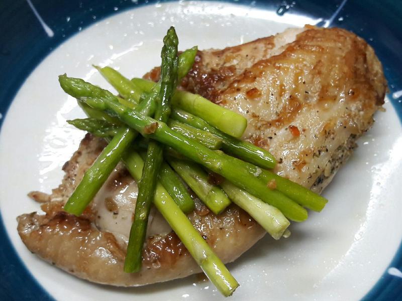 蘆筍香料雞排  便當菜 十分鐘上菜
