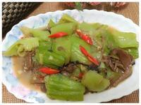 香菇燴炒長年菜