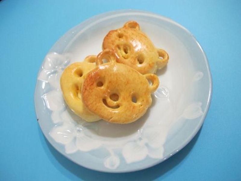 小魚媽の小熊餅乾