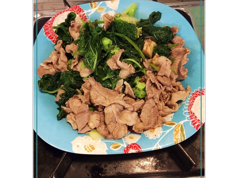 【羊肉料理】橙汁塔香炒羊肉