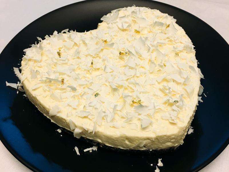 ♥️白巧克力乳酪蛋糕♥️