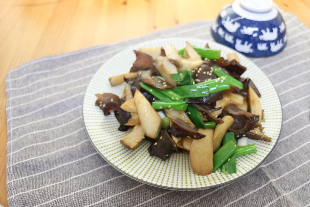 椰子油料理(三) 醬燒杏鮑菇