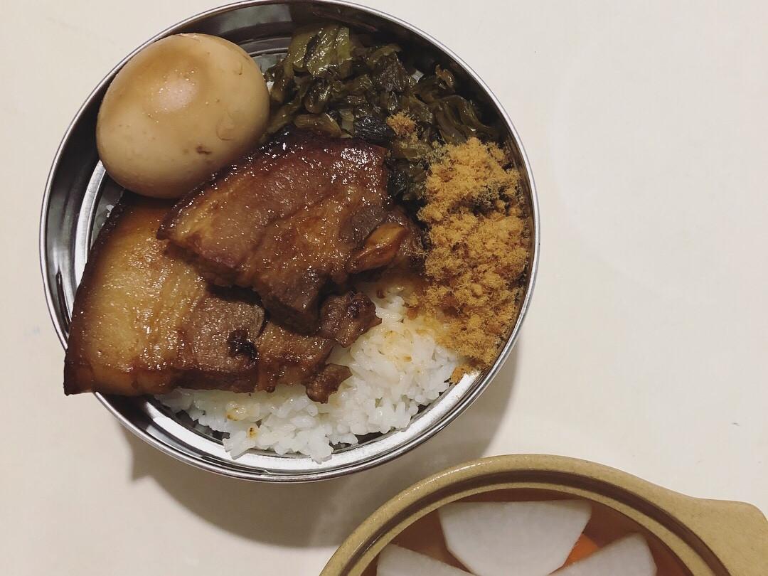 古早味控肉飯(滷三層五花肉)