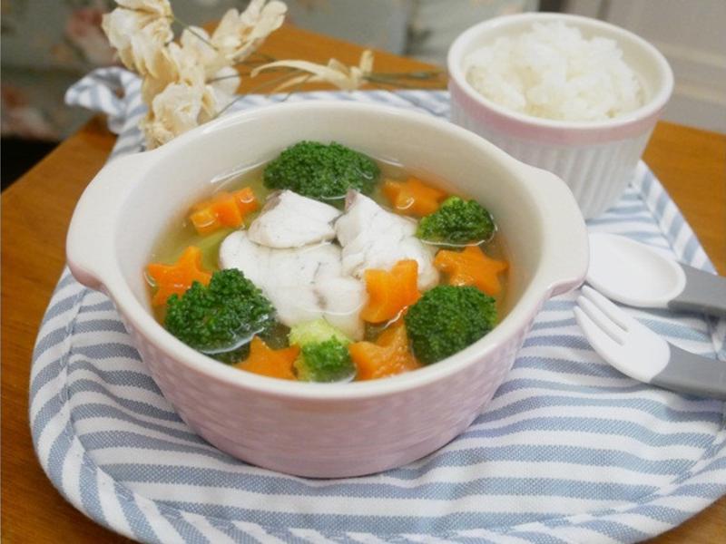 寶寶副食品「鮮魚小火鍋」好暖心 ♪