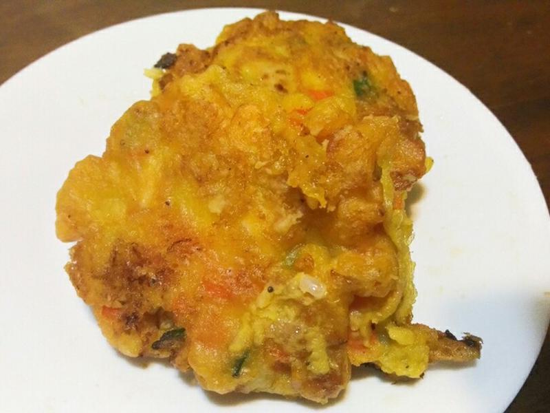 地瓜沙拉煎餅