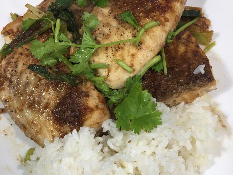 高蛋白「歐魯魯沙茶鯛魚飯」470卡