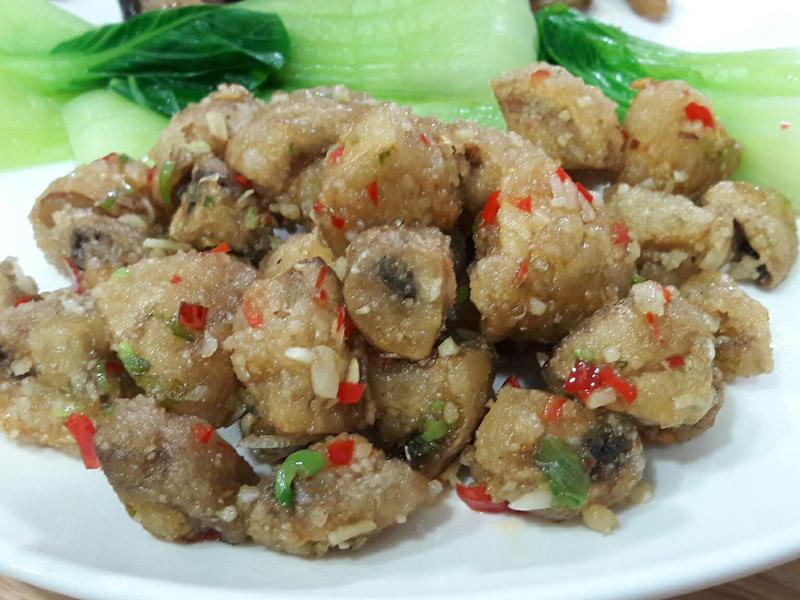 香蒜辣蘑菇  十分鐘下酒菜 家常菜