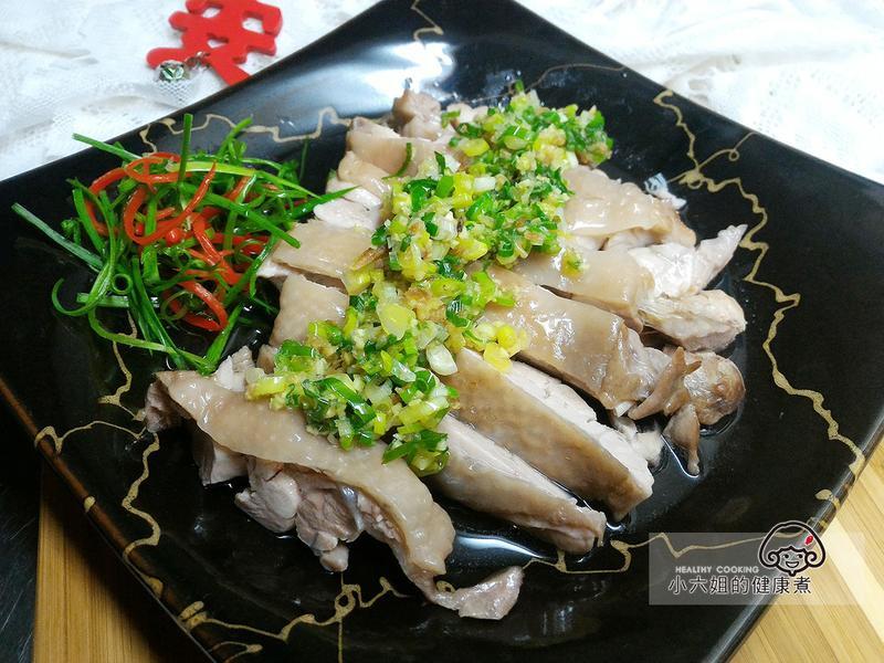 簡易年菜 蔥油雞