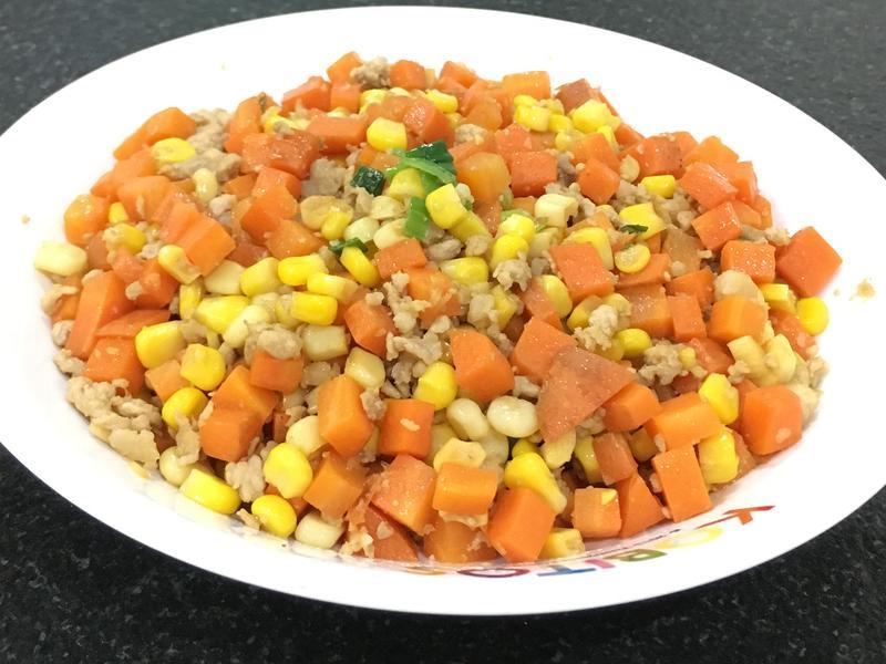 紅蘿蔔炒玉米
