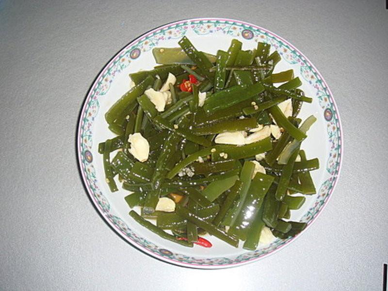 展媽咪の自創料理~~涼拌海帶芽