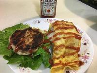 番茄肉排蛋包飯