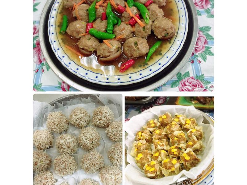 絞肉三寶(水波爐料理一爐三菜)