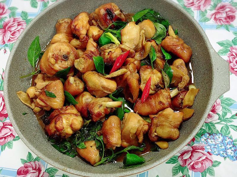 三杯雞 (水波爐料理)