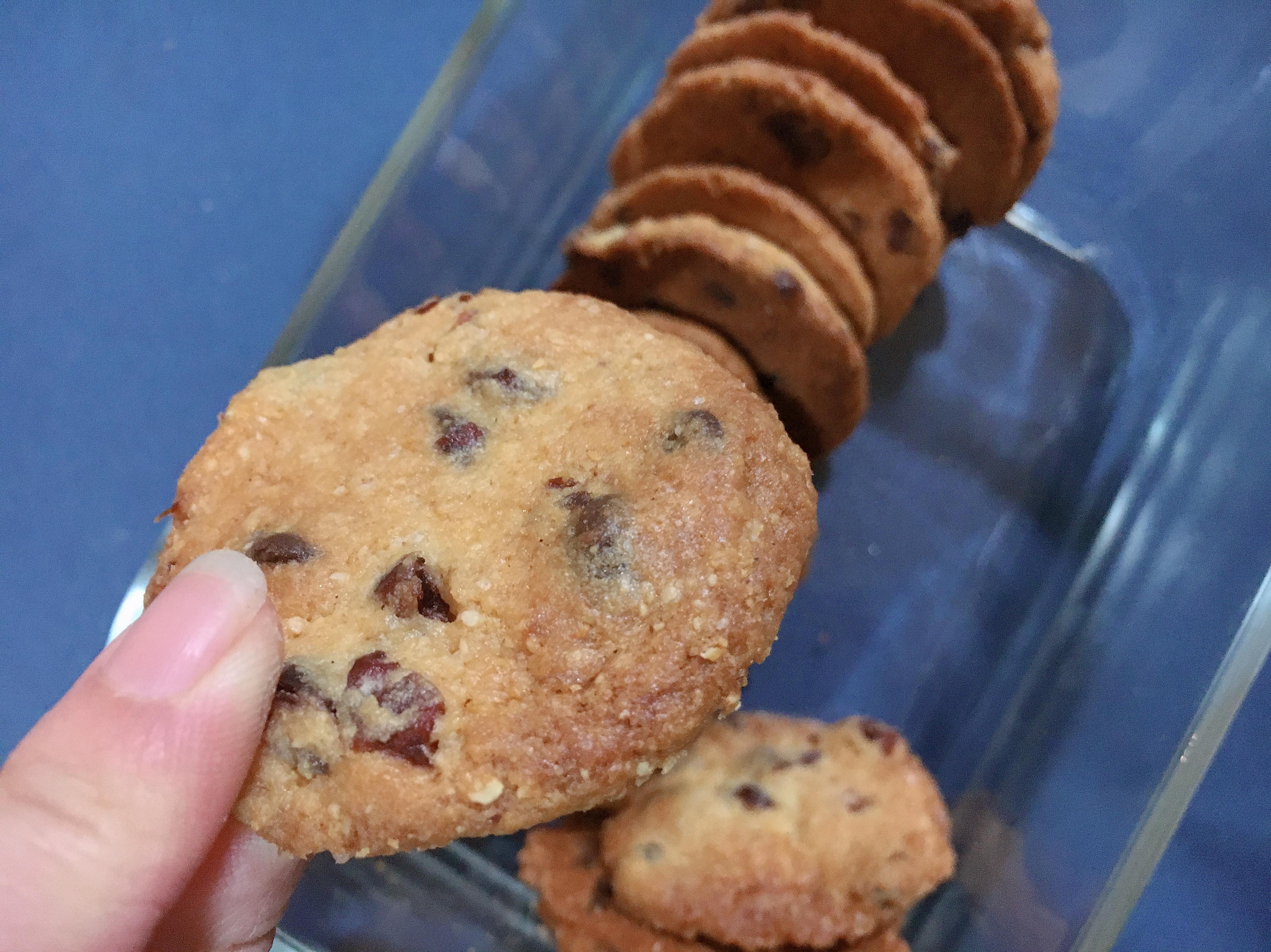 甜入你❤️ 蔓越莓巧克力豆餅乾