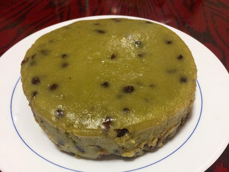 【過年】抹茶牛奶紅豆年糕