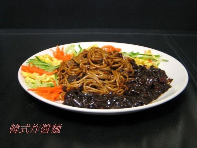 【韓式】韓國炸醬麵