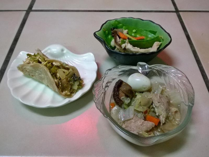 鮮食🐾捲餅 荷蘭豆拌肉 滷菜