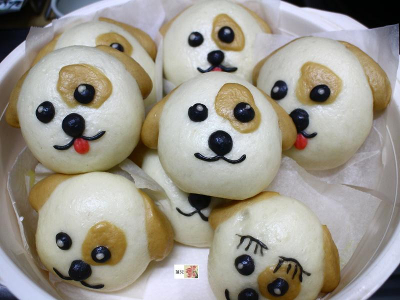 可愛狗紅豆包子(旺旺)