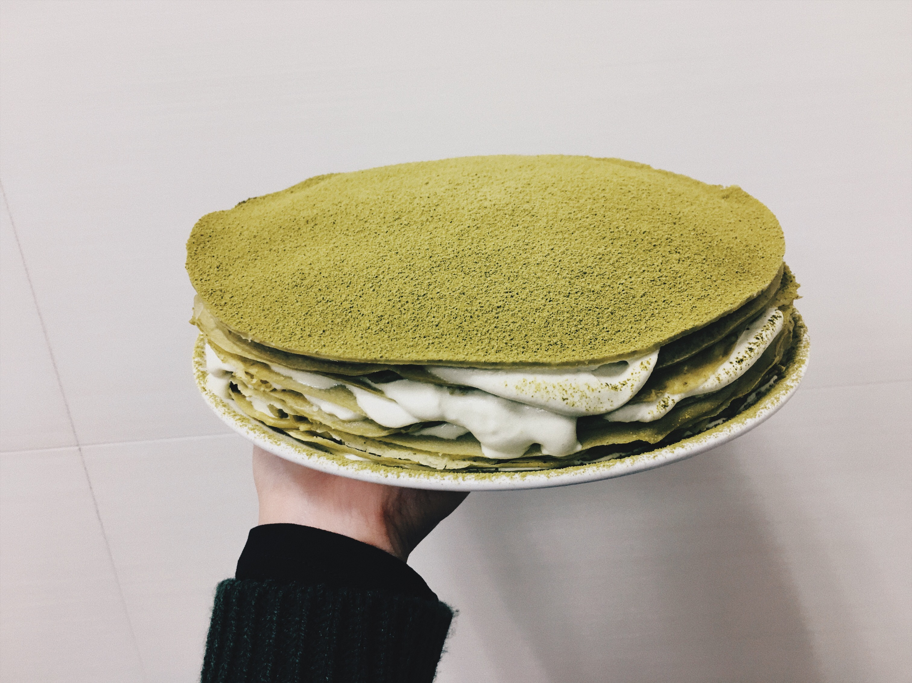宇治抹茶千層蛋糕🍵
