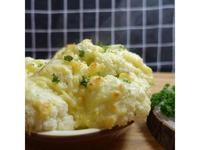 白醬焗花椰(冰霜燉菜)