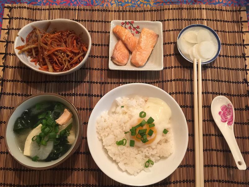 豪華日式早餐