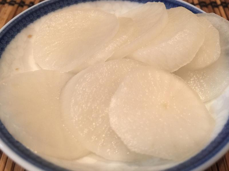 日式早餐之組合《現醃蘿蔔》