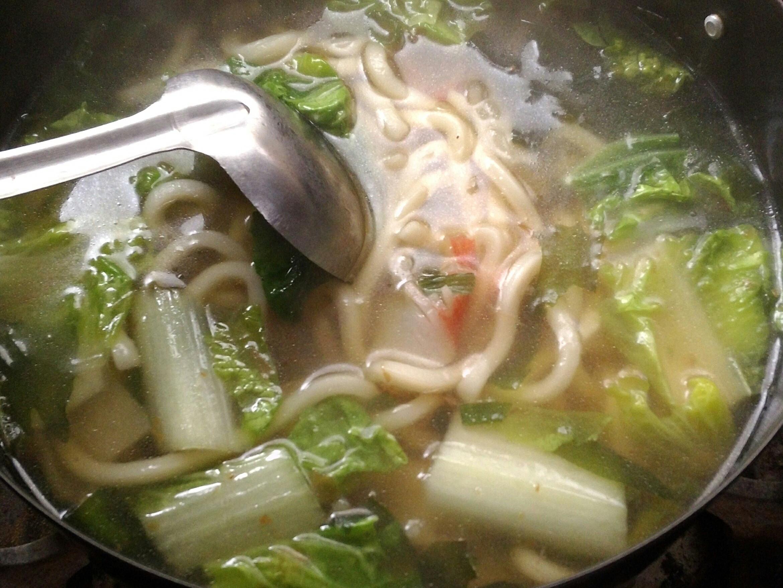 香菇肉燥烏龍麵