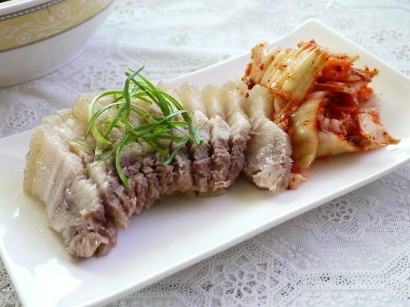 力力韓式-泡菜熟肉보쌈(簡易版)