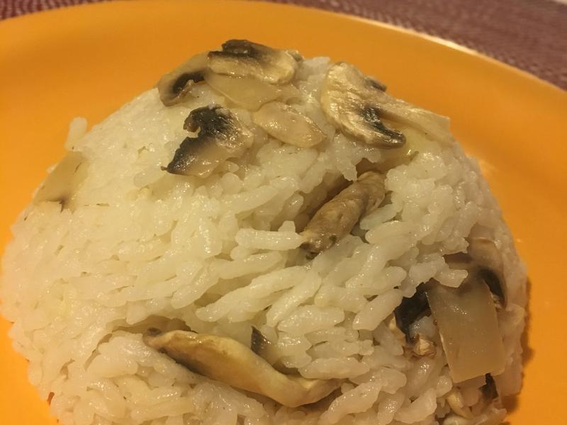 蒜香蘑菇飯