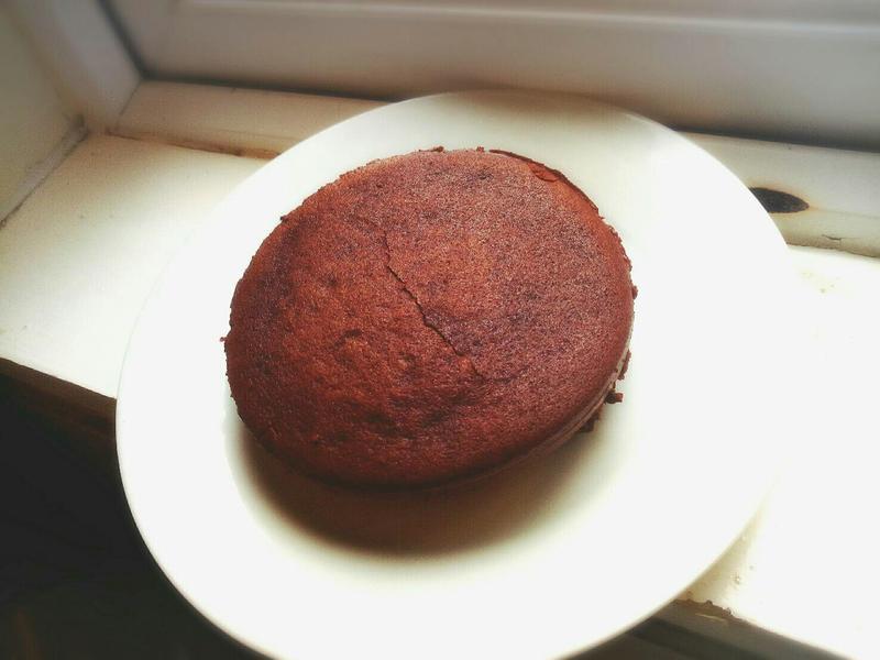 【無麵粉無烤箱】黑巧克力蛋糕