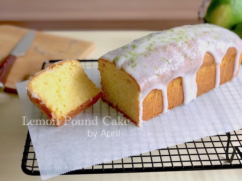鬆軟感 · 檸檬糖霜磅蛋糕🍋