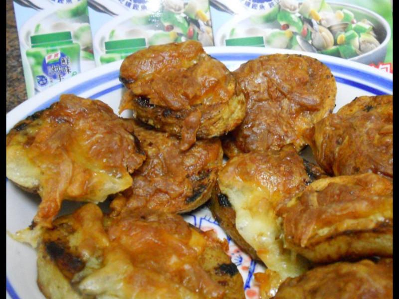 康寶鮮味炒手鰹魚風味-焗烤馬鈴薯