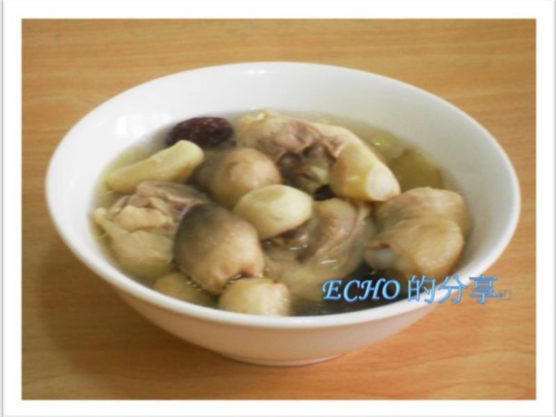 簡易料理:蒜頭雞湯-電鍋版