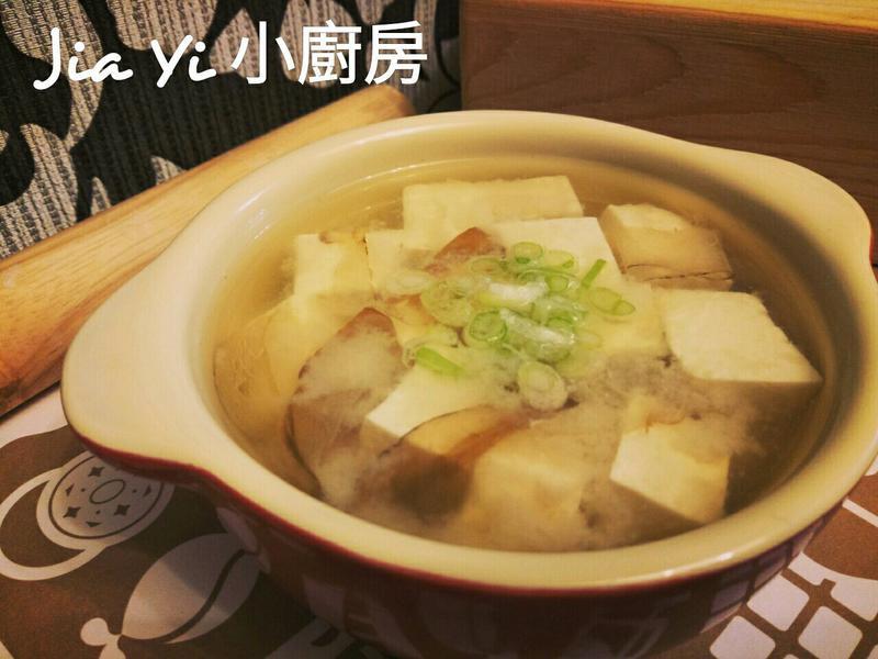 日式味噌湯