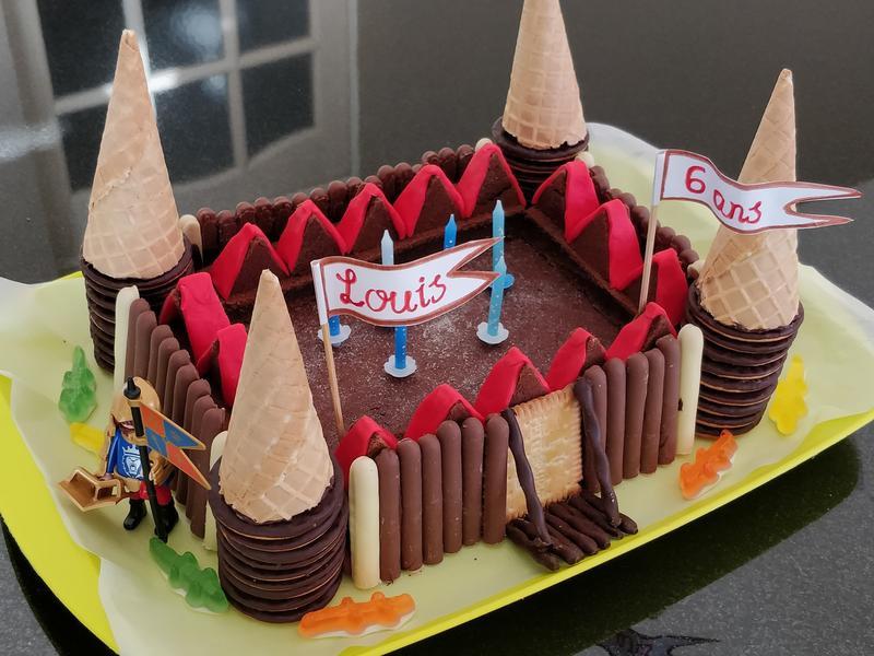 熔岩巧克力城堡🏰生日蛋糕