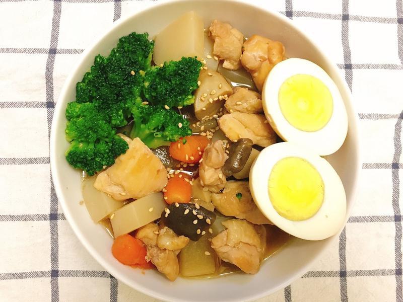 超下飯!!!! 日式蘿蔔燒雞~