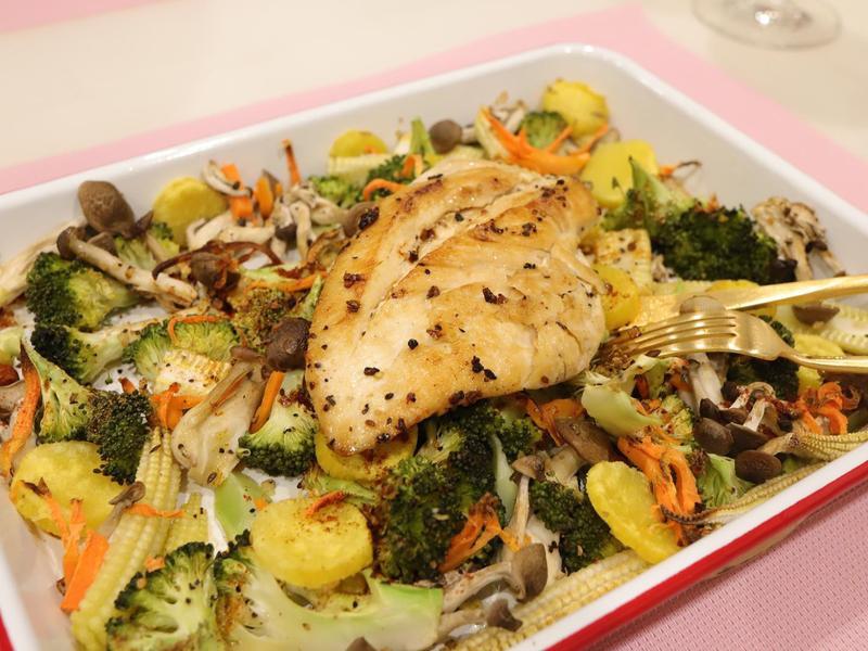【烤蔬菜】零廚藝+清冰箱