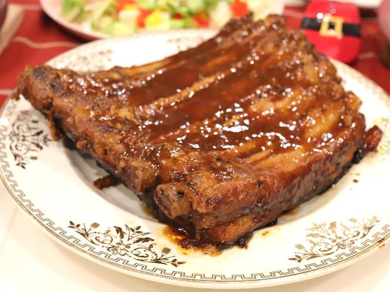 【烤豬肋排】比美式餐廳還好吃