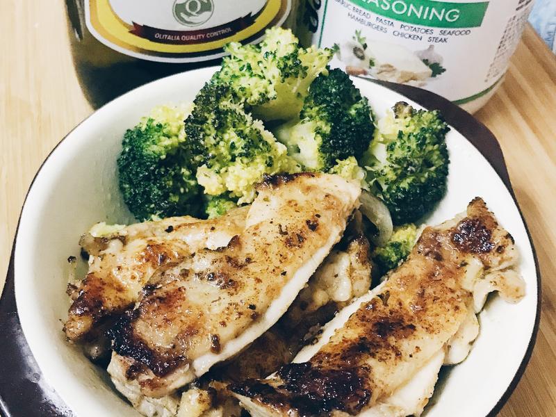 奶油煎雞腿(無澱粉、低醣、生酮)